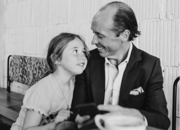 Anthony Byrne With Daughter - Better Parents Make Better CEOs